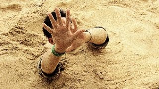 Easiest way to get out from Quick Sand | চোরাবালি থেকে বের হওয়ার উপায়