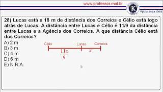 Prova dos Correios - Bahia 2006 (Operador de Triagem Carteiro - Questões 27 a 29)