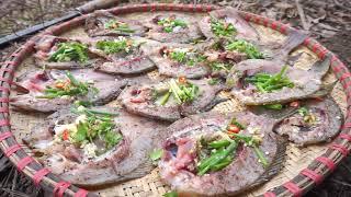 Cá nướng theo phong cách ẩm thựcTây Bắc