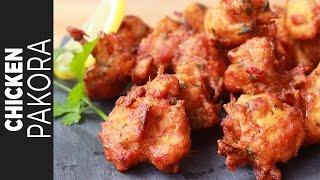 চিকেন পাকোড়া | Chicken Pakora | Crispy Chicken Pakora Recipe Bangla | চিকেন বড়া