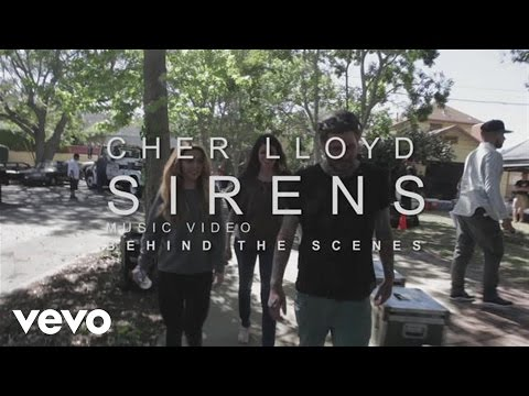 Cher Lloyd - Behind the Scenes of Sirens