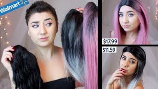 Wig Haul Under $25 - Try on, Styling and Reviewing the Cheapest Wigs
