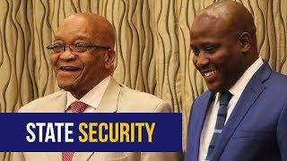 Bongani Bongo sworn in as the new Minister of State Security