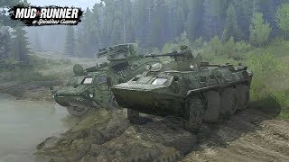SPINTIRES: MudRunner I Mod ► BTR 4E - BTR 82A [Deutsch/HD]