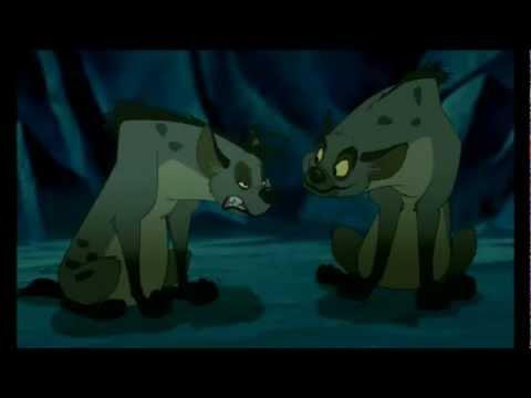 El Rey León Las hienas ¡mufasa