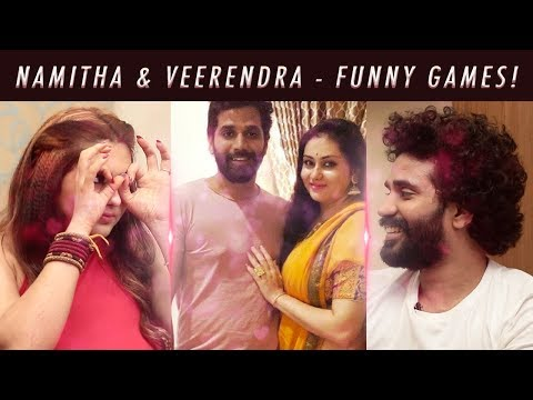 Couple's First EXCLUSIVE Interview ! | Namitha & Veerandra Chowdhary