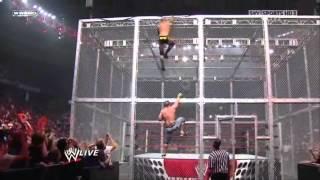 John Cena vs Randy Orton in steel cage match full in HD