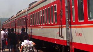 Chinese Sleeping Car Train Fuzhou  - Nanjing - Beijing