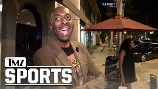 LeBron James Gets Lakers Pitch From John Salley | TMZ Sports