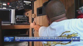 Cary man lists vintage FBI surveillance van for sale on eBay
