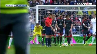 Cristiano Ronaldo Amazing Free Kick Goal  vs Celta Vigo