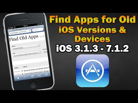 Xxx Mp4 Find Apps Compatible With Old IOS Versions Devices IPhone 2G 3G 3GS 4 IPod Touch 1 2 3 4 IPad 1 3gp Sex