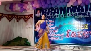 girl rocking dance by pawankalyan song