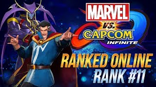 Doctor Strange & Jedah Rank 11 - Ranked Online - Marvel vs Capcom Infinite #2