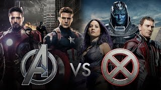 Captain America Civil War vs X-Men Apocalypse (Avengers vs X-Men)