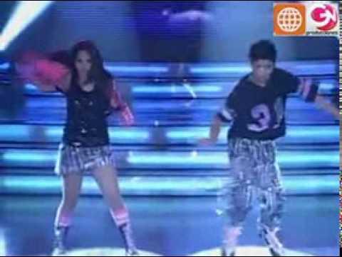 Baile Reggaetón Sandra Muente y Eduardo Herrera Soto El Show de los Sueños PERU 30 05 09