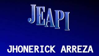 Jhonerick Arreza Productions, inc. Logo Color Version
