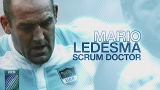 The Scrum Doctor: Los Pumas Legend Mario Ledemsa