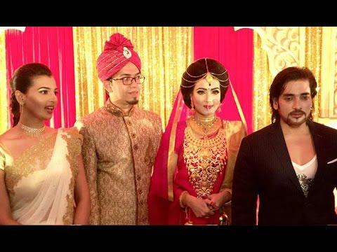 নায়িকা  মাহিয়া মাহির বৌভাত ( ছবিসহ )    BD Actress Mahiya Mahi's Wedding Story 2016