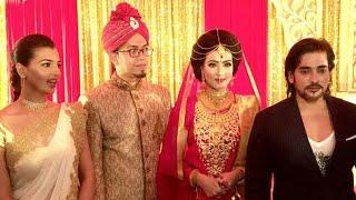 নায়িকা  মাহিয়া মাহির বৌভাত ( ছবিসহ ) |  BD Actress Mahiya Mahi's Wedding Story 2016