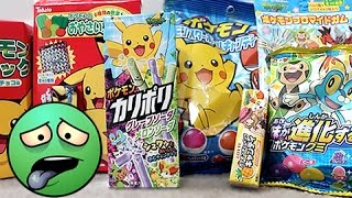 Ando Tries: Weird Pokemon Food From Japan!!