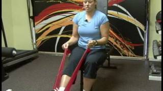 Senior Citizen Exercises : Senior Exercises: Leg Extensions