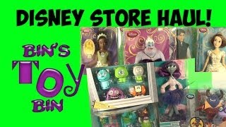 Disney Store Haul (Feb. 2014)! Princesses, Monsters and More! by Bin's Toy Bin