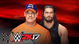 No Mercy: John Cena vs. Roman Reigns - WWE 2K17 Match Sims