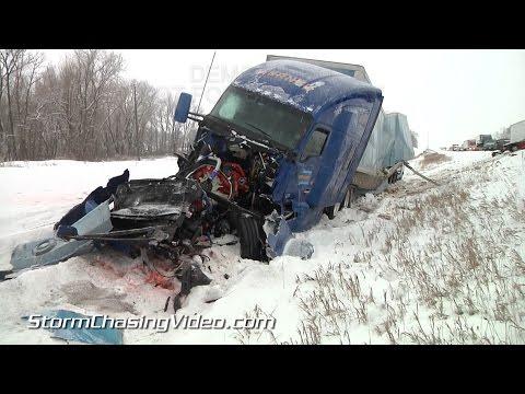 2/3/2015 Medford MN I35 Multiple Vehicle