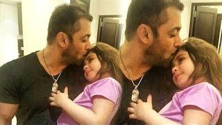 CUTE Little Fan Suzi Hugging & Kissing Salman Khan | Social Butterfly