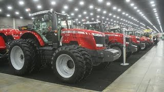 AGCO Exhibit at the 2015 National Farm Machinery Show
