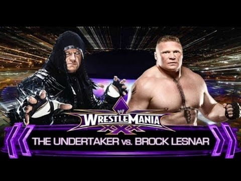 WWE 2K15: Brock Lesnar vs. The Undertaker (PS4)