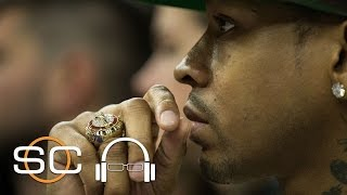 Lakers' Kobe Bryant Studied Sharks Before Facing 76ers' Allen Iverson   SC with SVP   April 19, 2017