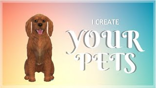 Atlas - I Create YOUR Pets | The Sims 4 CAP