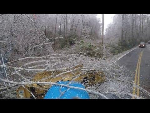 A beautiful Mess Part 2 Major ice storm damage