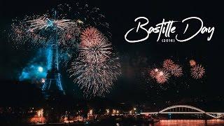 Celebrating Bastille Day in Paris, France (2016)