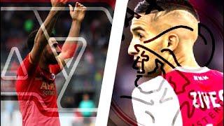 Hakim ZIYECH (Ajax Amsterdam) vs./ Alireza JAHANBAKHSH (AZ Alkmaar) | 2017/18 Season