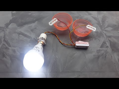 Free energy experiment using blades