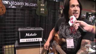 Summer NAMM '11 - Mahalo Amplification Katy 66 & DR20 Demos w/ Delaney Guitars Jagata