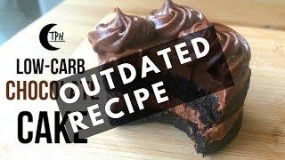 Keto Chocolate Cake | Low-Carb Moist Chocolate Cake Recipe | Keto Chocolate Frosting