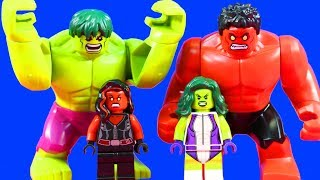 Lego Marvel Super Heroes Hulk She Hulk Battle Red She Hulk In Lego Hulk Smash