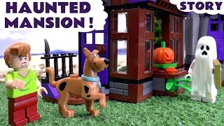 Scooby Doo LEGO Stop Motion Toy Story Prank with Minions Thomas & Friends Mystery Haunted Mansion