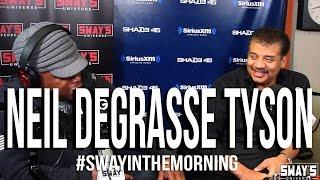Neil deGrasse Tyson Responds to B.o.B's Flat Earth Talk + Introduces Nephew TYSON | Sway's Universe