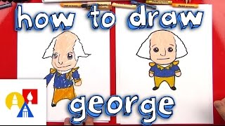 How To Draw A Cartoon George Washington