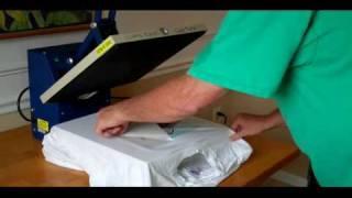 How To Screen Print: T Shirt Heat Transfers At Home Designermite T-Shirts Press Printed