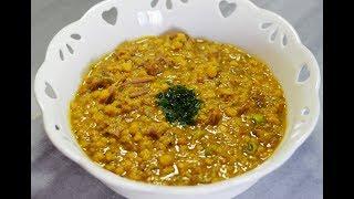 خوراک گوشت و لپه (دال گوشت) یک غذای هندی فوق العاده خوشمزه و متفاوت | Daal Gosht - Eng Subs