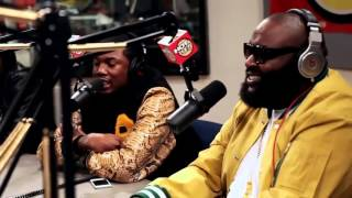 Meek Mill, Rick Ross HOT97 Freestyle Uncut 2012