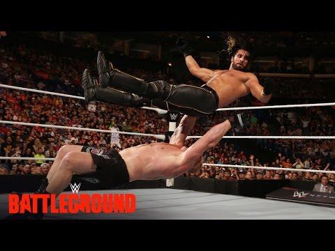WWE Network: Brock Lesnar welcomes Seth Rollins to Suplex City: WWE Battleground 2015