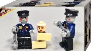 워킹데드 경찰 좀비 Elephant 거상 레고 짝퉁 미니피규어 리뷰 Lego knockoff The Walking Dead police man zombie mini figure