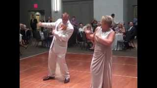 Energetic Mother/Son First Wedding Dance